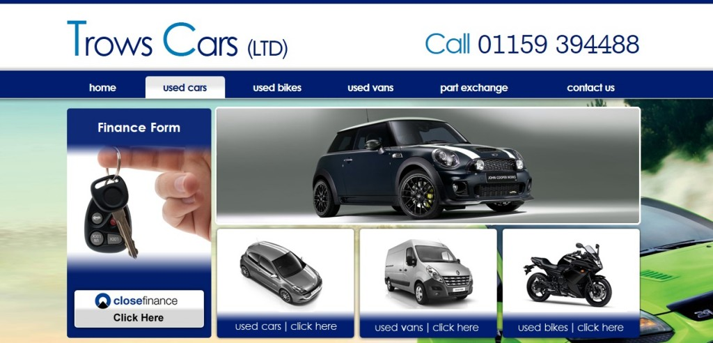 Trows Cars LTD cover